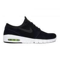 new styles 786fa 9a780 Nike SB Stefan Janoski Max L (Black Black-Cyber-White) - Consortium