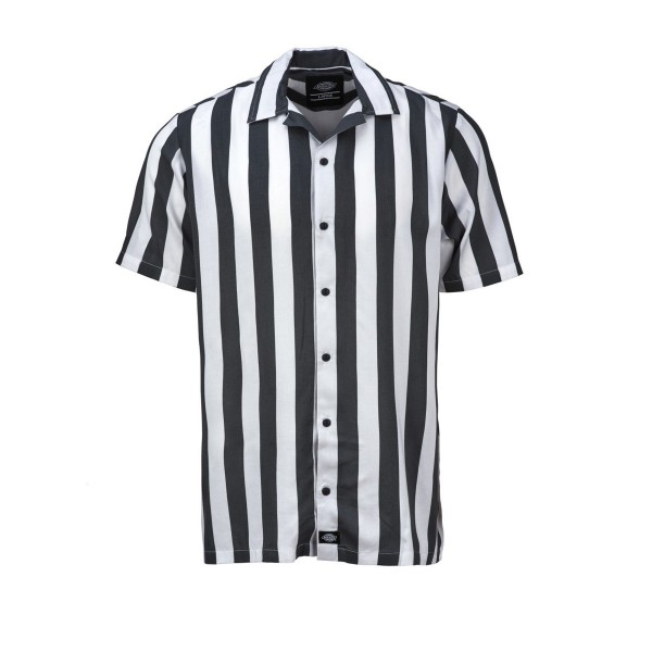 Dickies Roslyn Stripe Shirt (Charcoal Grey)