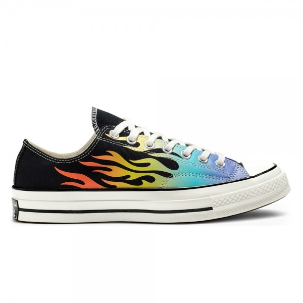 Converse Chuck Taylor All Star 70 Ox 'Archive Print' (Black/Turf Orange/Egret)
