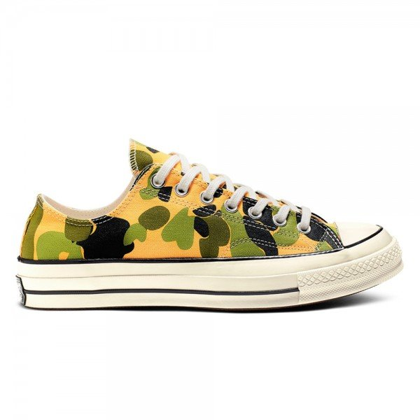 Converse Chuck Taylor All Star 70 Ox 'Archive Print' (University Gold/Black/Egret)