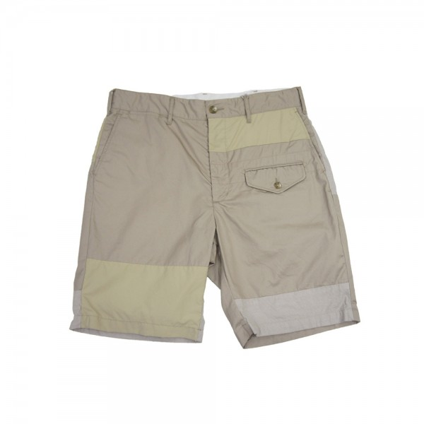 Engineered Garments Ghurka Short (Khaki 6.5 Oz Flat Twill)