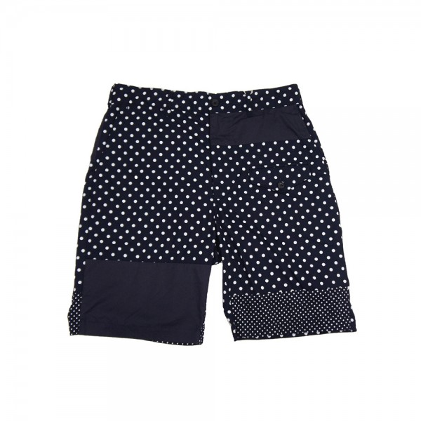 Engineered Garments Ghurka Short (Dark Navy Big Polka Dot Broadcloth)