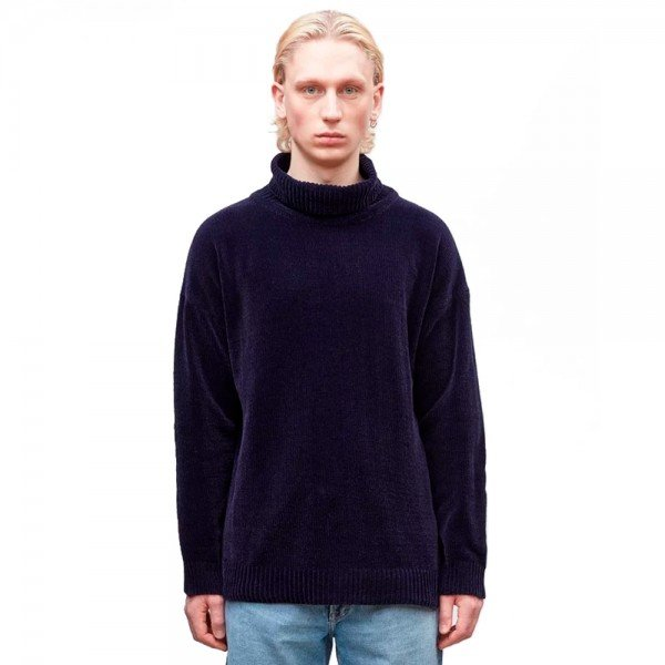 Our Legacy Turtleneck (Navy Velvet)