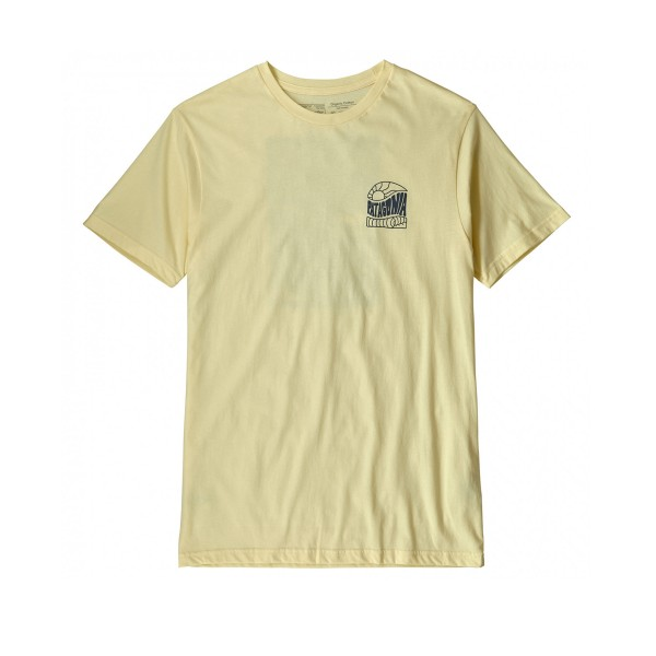 Patagonia Cosmic Peaks Organic T-Shirt (Resin Yellow)