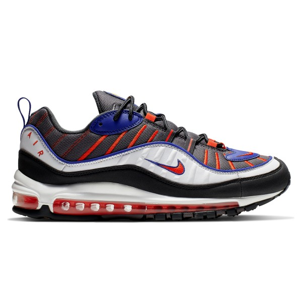 Nike Air Max 98 (Gunsmoke/Team Orange-Laser Orange-White)