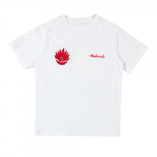 Maharishi Pearl of Wisdom T-Shirt (White Lotus Jewel Embroidery)