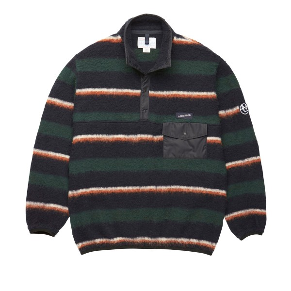 nanamica Nanamican Pullover Sweater (Navy/Green)