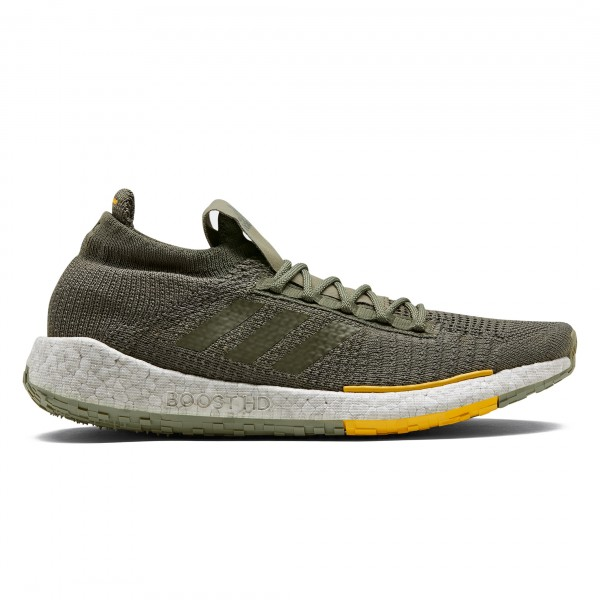 adidas by Monocle PulseBOOST HD Mixed Component 'Run City Pack' (Raw Khaki/Raw Khaki/Active Gold)