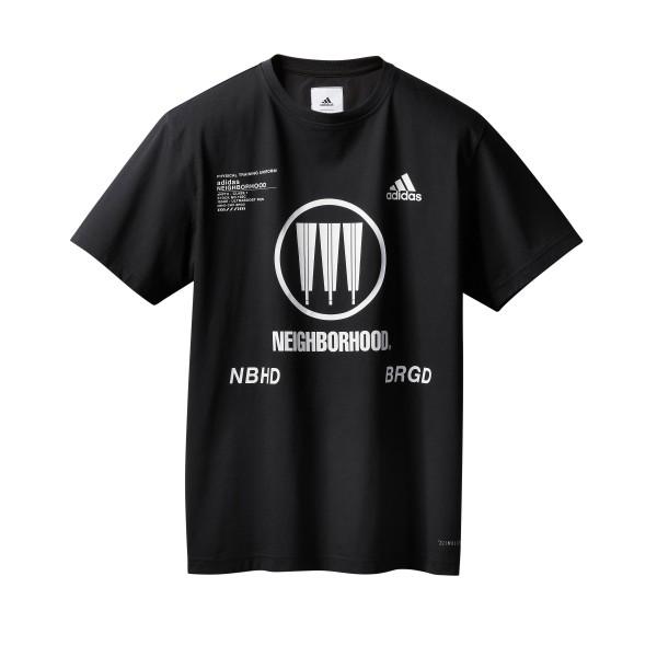 adidas by NEIGHBORHOOD T-Shirt 'Run City Pack' (Black)