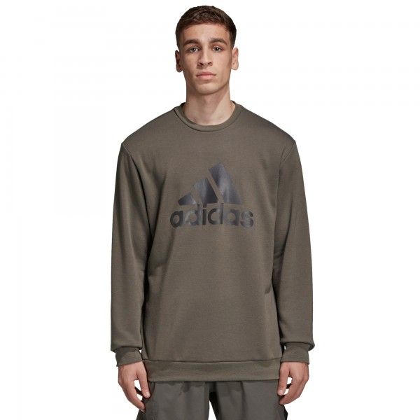 adidas by UNDEFEATED Running Crew Neck Sweatshirt (Cinder)