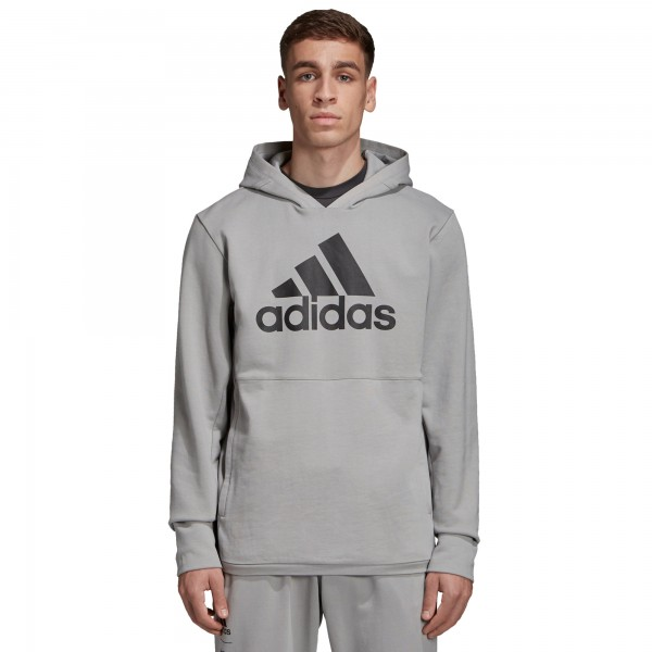adidas by UNDEFEATED Tech Pullover Hooded Sweatshirt (Shift Grey)