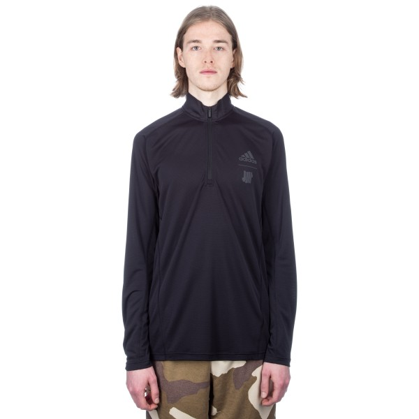 adidas by UNDEFEATED Technical Half Zip Sweatshirt (Black)