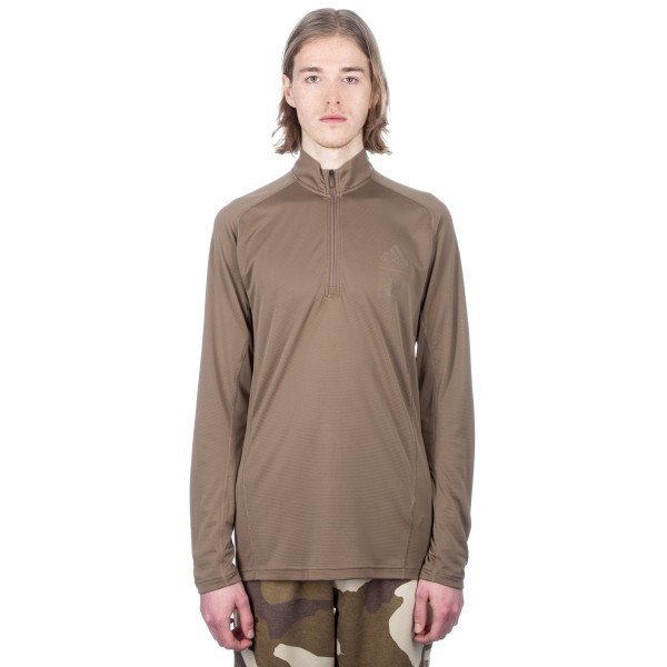 adidas by UNDEFEATED Technical Half Zip Sweatshirt (Tactile Khaki)