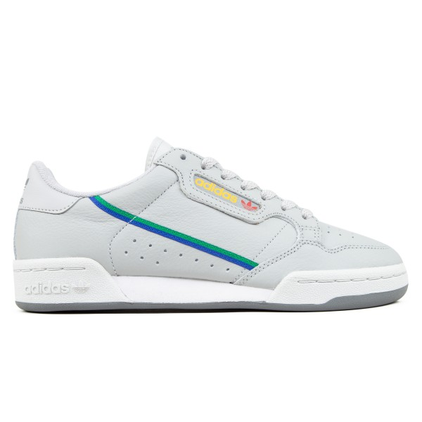 adidas Originals Continental 80 (Grey Two F17/Grey One F17/Scarlet)