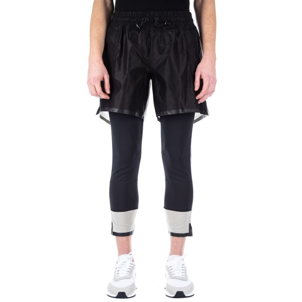 adidas Day One 'Running Pack' No-Stain Leggings (Black/Clear Brown)