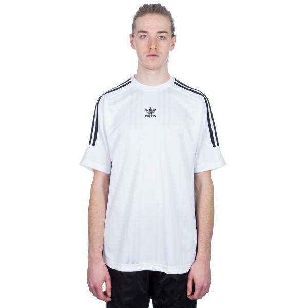 adidas Originals 3-Stripes Jacquard Jersey (White/Black)