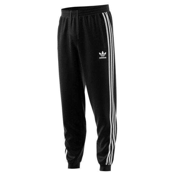 adidas Originals 3-Stripes Sweatpants (Black)