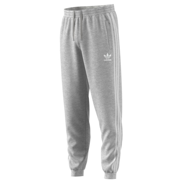 adidas Originals 3-Stripes Sweatpants (Medium Heather Grey)