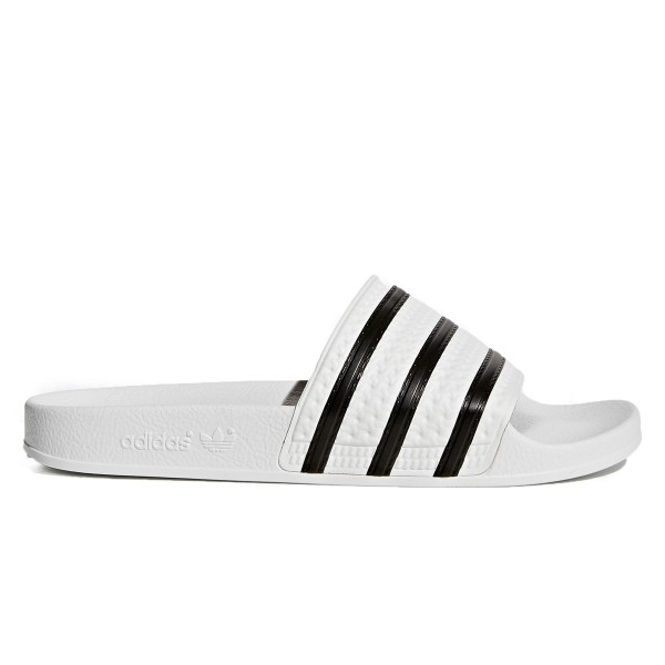 adidas Originals Adilette (White/Core Black/White)