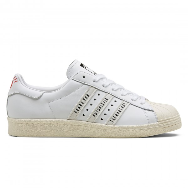 adidas Originals by Human Made Superstar 80s (Core Black/Footwear White/Off White)