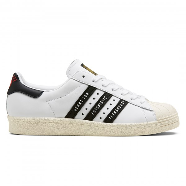 adidas Originals by Human Made Superstar 80s (Footwear White/Core Black/Off White)