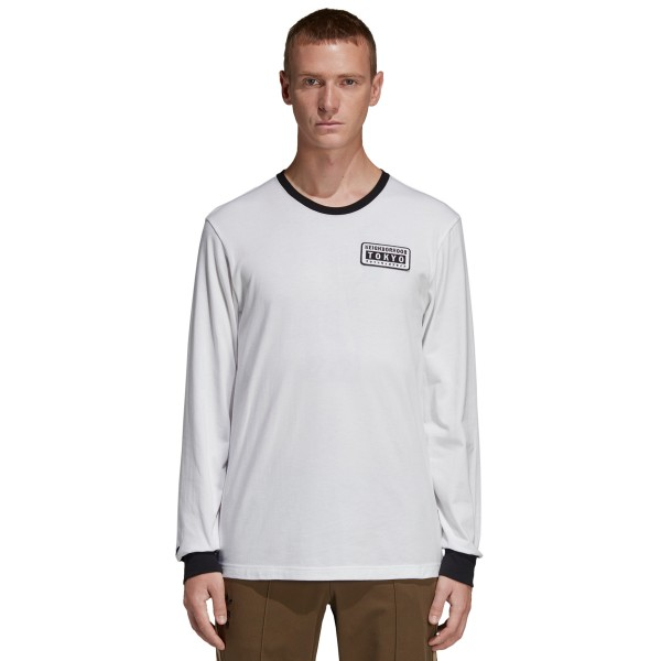 adidas Originals by NEIGHBORHOOD Long Sleeve T-Shirt (White)