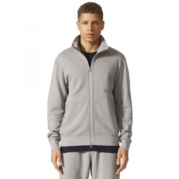 adidas Originals by wings + horns Bonded Linen Firebird Track Jacket (Mgh Solid Grey)