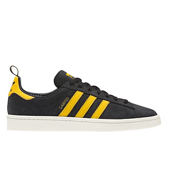 adidas Originals Campus (Core Black/EQT Yellow/Chalk White)