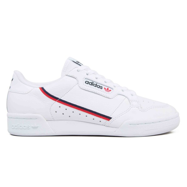 adidas Originals Continental 80 'Yung Series' (Footwear White/Scarlet/Collegiate Navy)