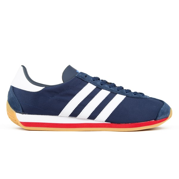adidas Originals Country OG (Collegiate Navy/Footwear White/Scarlet)