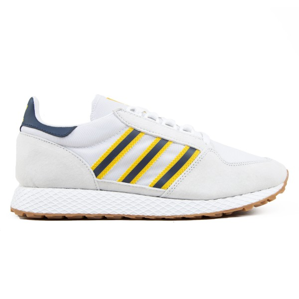 adidas Originals Forest Grove (Crystal White/Footwear White/Indigo)