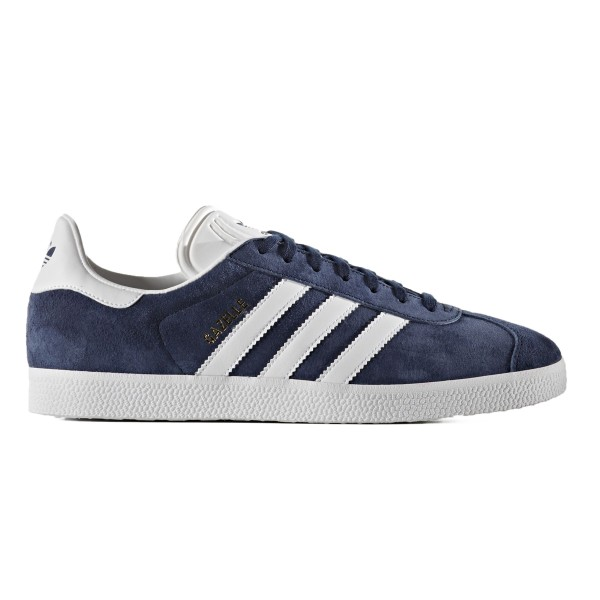 adidas Originals Gazelle (Collegiate Navy/Footwear White/Gold Metallic)