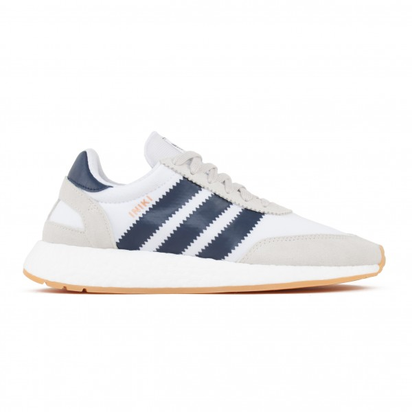 adidas Originals Iniki Runner (Footwear White/Collegiate Navy/Gum)