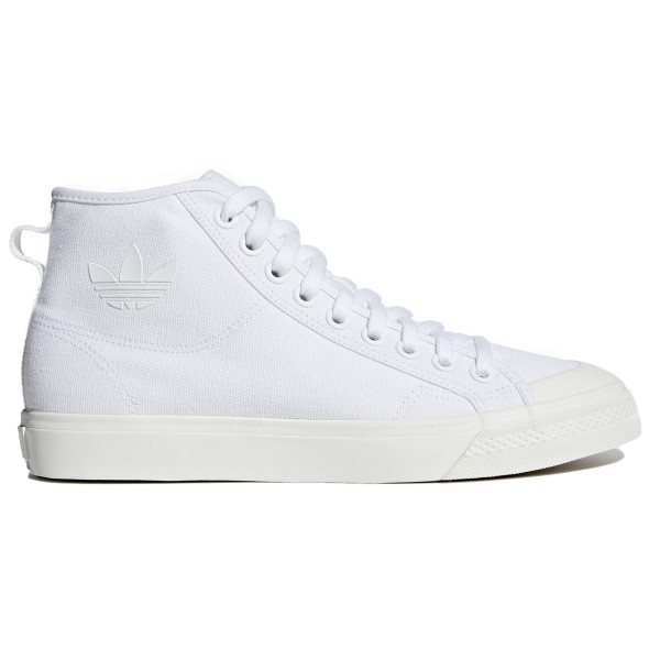 adidas Originals Nizza Hi (Footwear White/Footwear White/Off White)