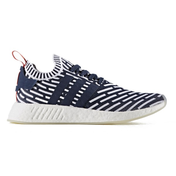 adidas Originals NMD_R2 Primeknit (Collegiate Navy/Collegiate Green/Footwear White)