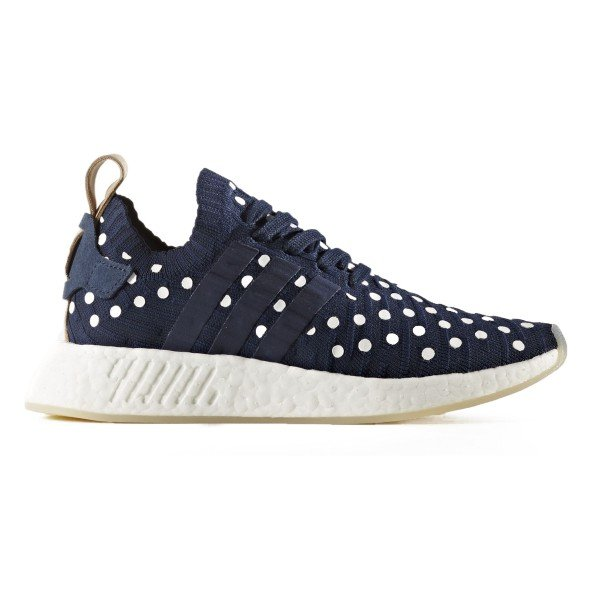 adidas Originals NMD_R2 Primeknit W (Collegiate Navy/Footwear White)