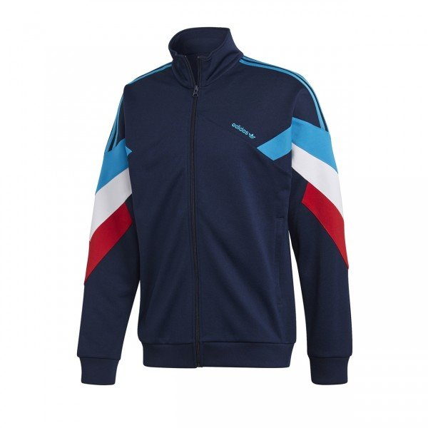 adidas Originals Palmeston Track Jacket (Collegiate Navy/Bold Aqua)