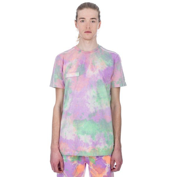 adidas Originals Pharrell Williams Hu Holi 'Powder Dye' T-Shirt (Multicolour/White)