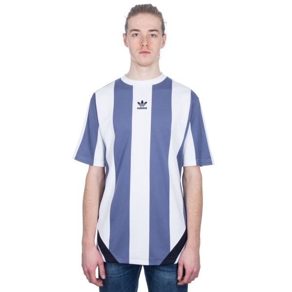 adidas Originals Rival Goalie T-Shirt (Raw Indigo/White/Legend Ink)