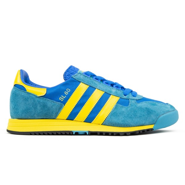 adidas Originals SL 80 (Glory Blue/Yellow/Tactile Steel)