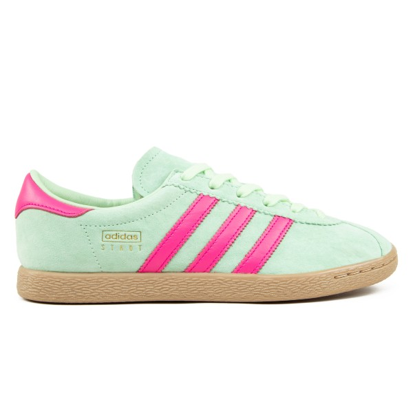 adidas Originals Stadt (Glow Green/Shock Pink/Gold Metallic)