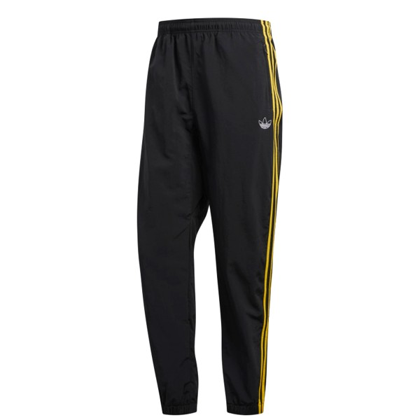adidas Originals Tourney Warm-Up Woven 3-Stripe Pants (Black/Bold Gold)