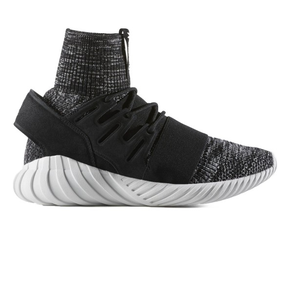 adidas Originals Tubular Doom Primeknit GID (Core Black/Granite/Vintage White)