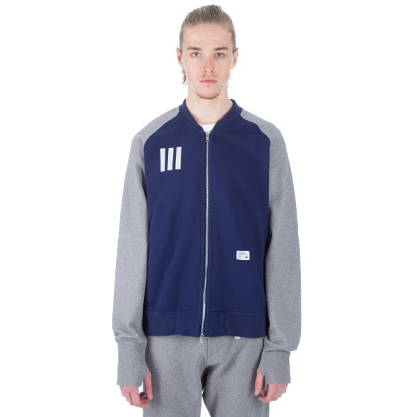 adidas Originals x Bedwin & The Heartbreakers Sweat Track Top (Dark Blue/Core Heather)