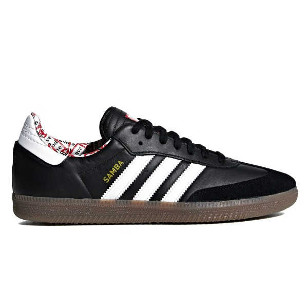 adidas Originals x have a good time Samba (Core Black/Footwear White/Gum 5)