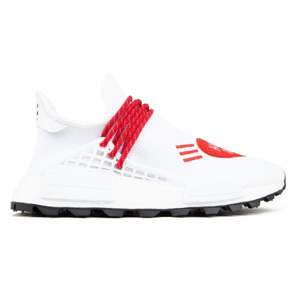adidas Originals x Pharrell Williams x Human Made Hu NMD (Footwear White/Scarlet/Core Black)