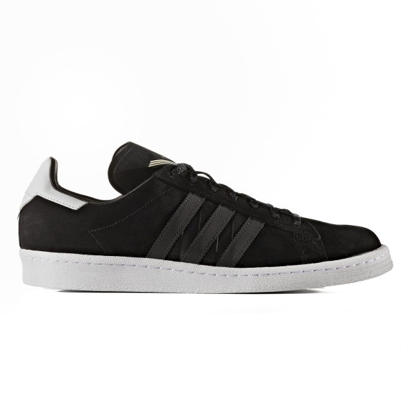 adidas Originals x White Mountaineering Campus 80s (Core Black/Utility Black/Footwear White)