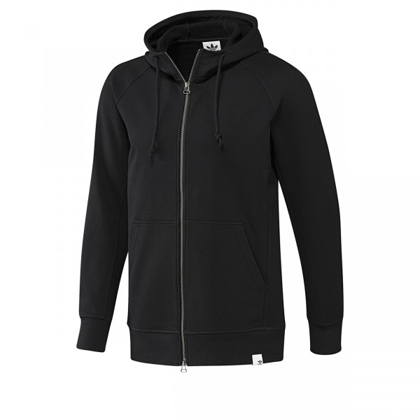 adidas Originals XbyO Full-Zip Hooded Sweatshirt (Black)