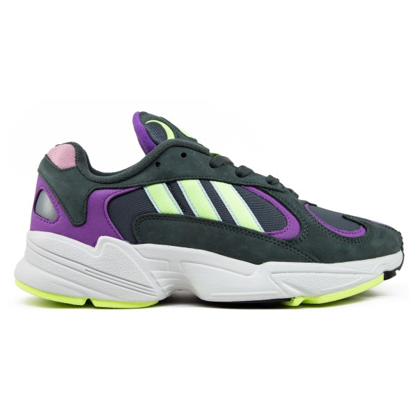 adidas Originals Yung-1 (Legend Ivy/Hi-Res Yellow/Active Purple)