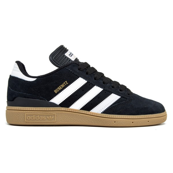 adidas Skateboarding Busenitz (Black 1/Running White FTW/Metallic Gold)
